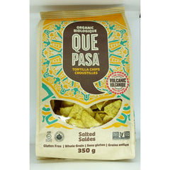 Que Low Salt Tortilla Chips 425g