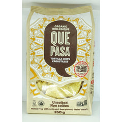 Que Unsalted Tortilla Chips 425g