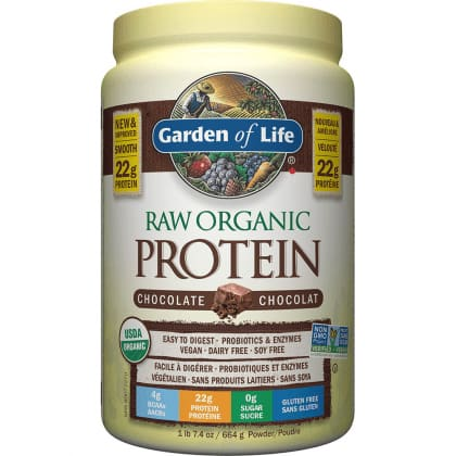 Raw Organic Protein Chocolate 664g - Protein