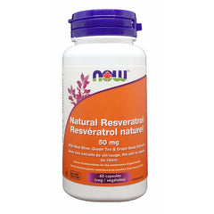Resveratrol Natural 50mg 60 Veggie Caps