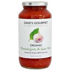 Roasted Garlic Sweet Basil Pasta Sauce 723g