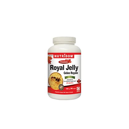 Royal Jelly 1000mg 300 Soft Gels - Royal Jelly