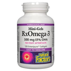RxOmega3 Mini 500mg 60 Soft Gels