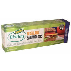 Sandwich Resealable 25 Bags