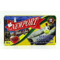 Sardines In Vegetable Oil 120g