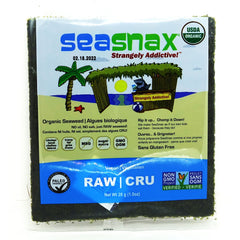 Seaweed Sheet Raw Raw Raw 28g