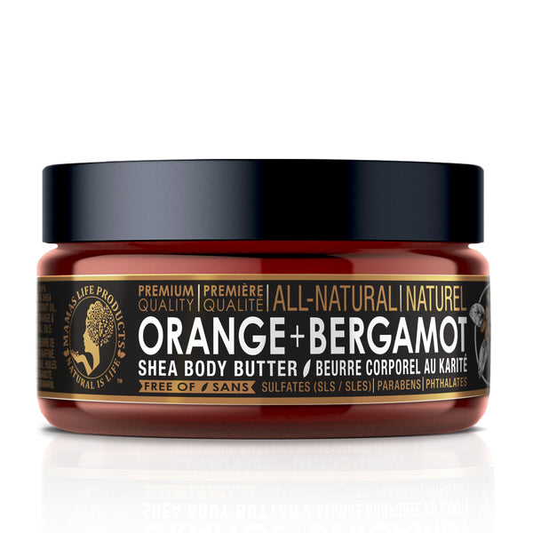 Shea Butter Orange + Bergamot 177ml