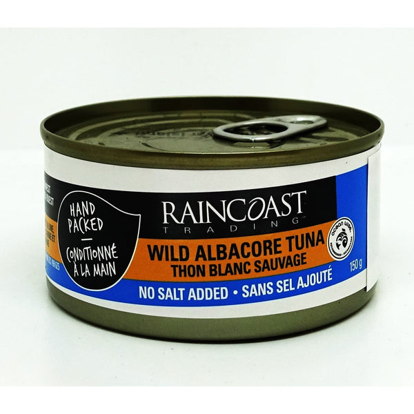 Solid White Albacore Tuna No Salt