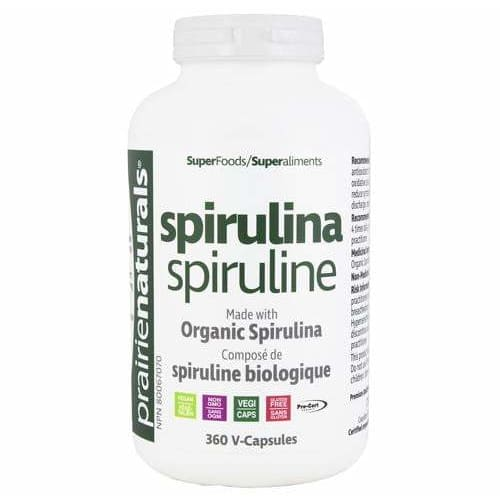 Spirulina 500mg 360 Tablets - Spirulina