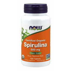 Spirulina Organic 500mg 100Tablets