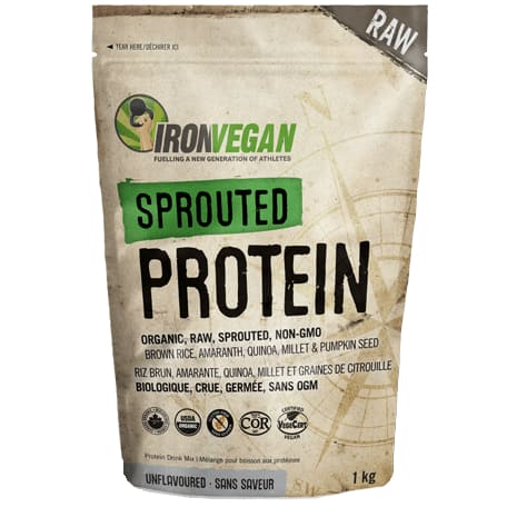 Sprouted Protein Vanilla 500g - Protein
