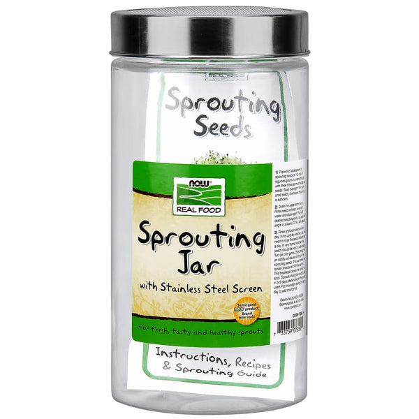 Sprouting Glass Jar Wild 1.89L - Sprout