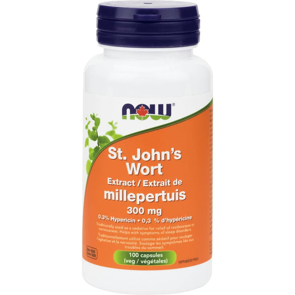 St.Johns Wort 300mg 100 Veggie Caps - SleepRelax