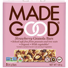 Strawberry Granola Bar Box 120g
