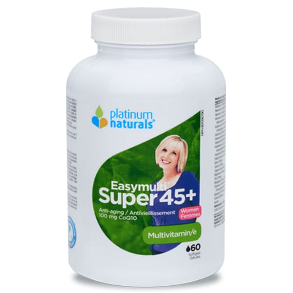 Super Easymulti Women 45+ 60 Soft Gels - MultiVitamin