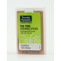 Tea Tree Chewing Sticks 100s