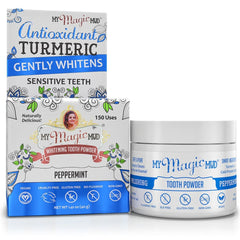 Toothpowder Teeth and Gums Turmeric and Cacao Peppermint 40g