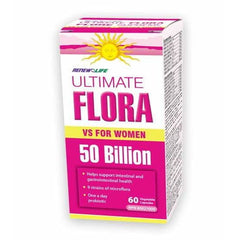 Ultimate Flora Vaginal 50Billion 72 Caps