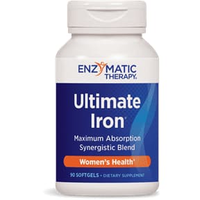 Ultimate Iron Complex 90 Soft Gels - Iron