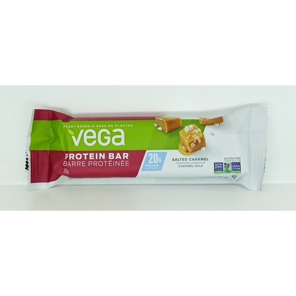 Vega20g Protein Bar Salted Caramel 70g - Bars