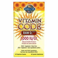 Vitamin Code RAW D3 1000 IU 60 Caps