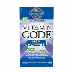 Vitamin Code Raw Men 60 Veggie Caps