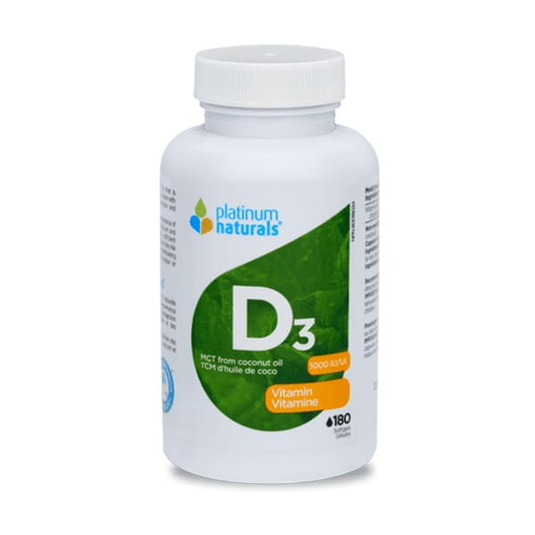 Vitamin D3 1000IU 360 Soft Gels - VitaminD