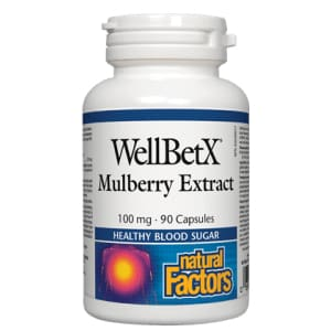 WellBetX Mulberry Extract 90 Caps - Blood Sugar
