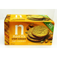 Wheat Free Stem Ginger Biscuits 200g