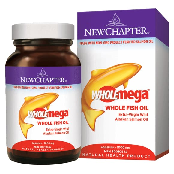 Wholemega 1000mg 120 Soft Gels - Fish Oil