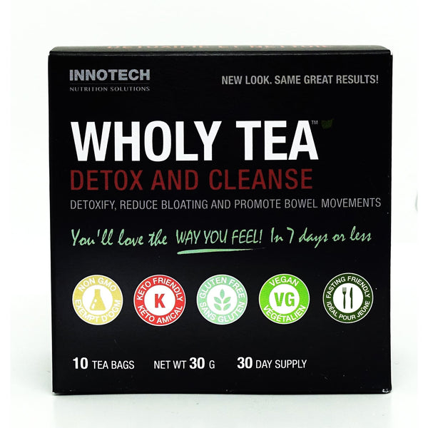Wholy Tea Detox & Cleanse 10 Packs