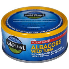 Wild Albacore Tuna Low Sodium 142g
