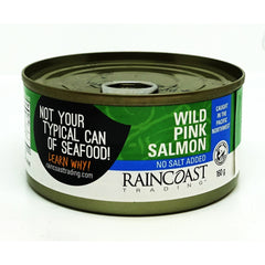 Wild Pink Salmon 150g No Salt Add