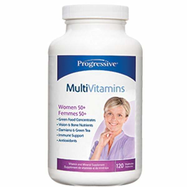 Women 50+ Multi 60 Veggie Caps - MultiVitamin