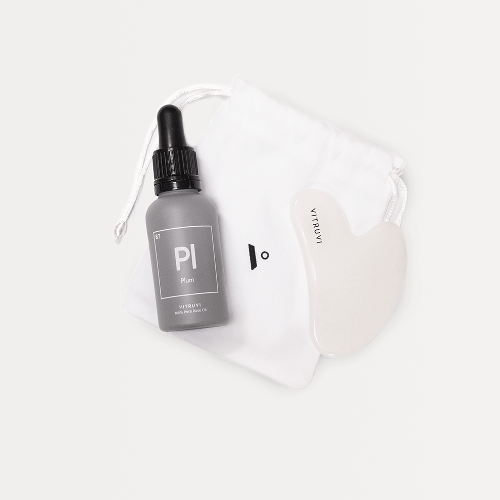 Gua Sha Facial Massage Duo - Vitruvi