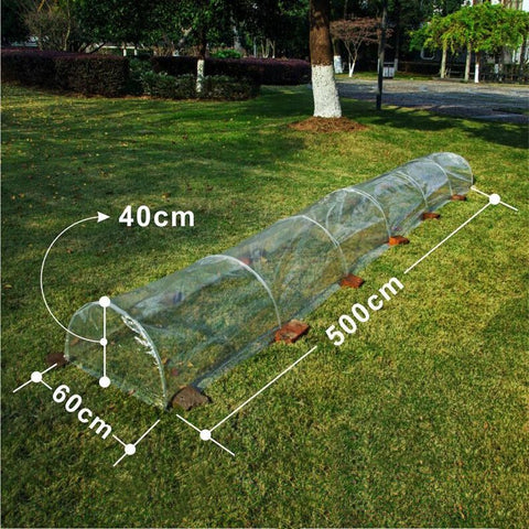 Mini Garden Greenhouse 16-Feet Length