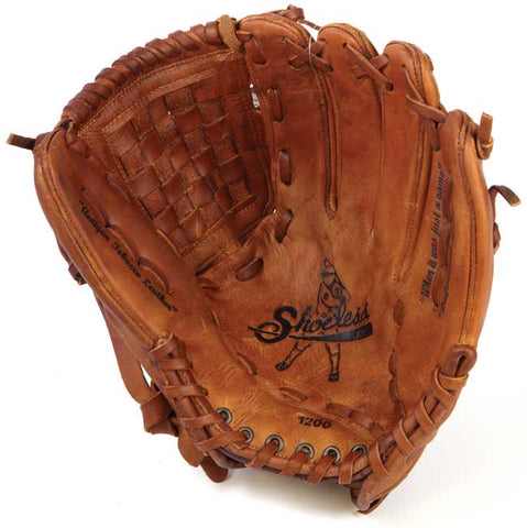 "Shoeless Joe 12"" Basket Weave Pocket Baseball Glove"