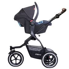 Phil and Teds Travel System - Maxi Cosi Mico, Nuna Pipa, Alpha (TS26v3)