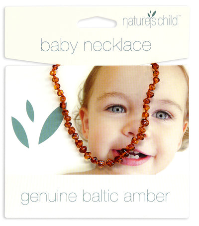 Natures Child Baltic Amber Baby Necklace