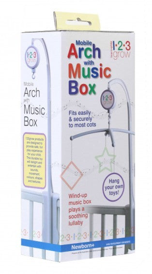 123 Grow Mobile Arm with Music Box