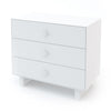 Oeuf Merlin 3 Draw Dresser Rhea Base - White