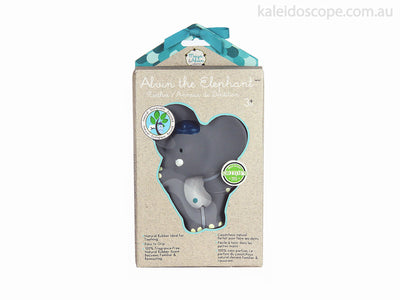 Meiya and Alvin All Rubber Alvin the Elephant Teether