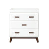 Babyletto Scoot Dresser - White/Walnut