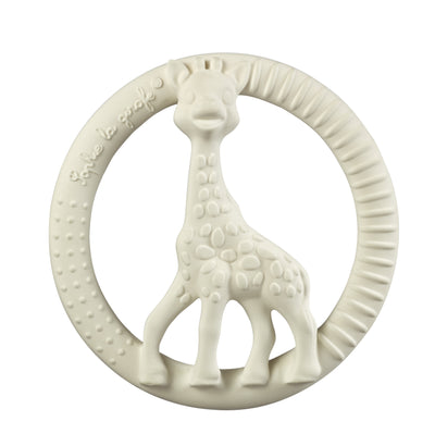 Sophie the Giraffe Teething Ring - Cream