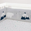 Living Textiles Traveller 2 pc Cot Bumper