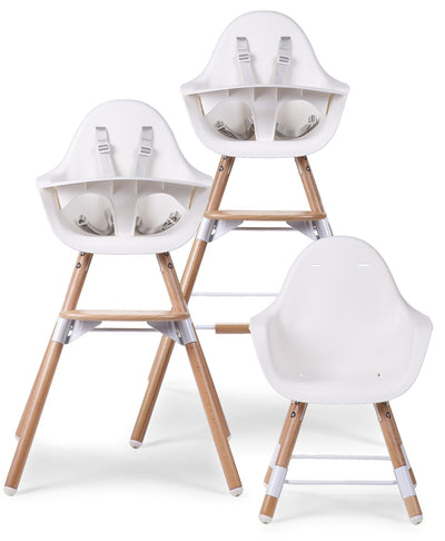 Evolu 2 Highchair - Natural/White