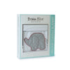 Bubba Blue Petit Elephant Velour Blanket