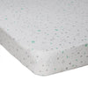 Living Textiles Shining Star Jersey Cot Fitted Sheet
