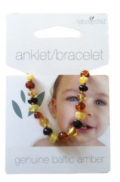 Natures Child Baltic Amber Anklet / Bracelet