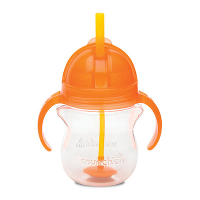 Munchkin Weighted Flexi Straw Cup - Orange